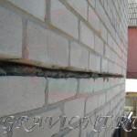 Штробление стены под перемычку