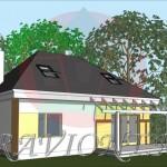 проект низкого дома