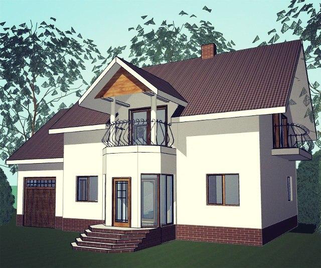 """Проект дома """"Эмилия"""""""