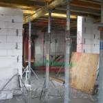Элементы опалубки перекрытия второго этажа