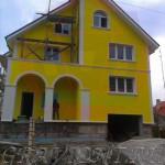 Фасад реконструируемого  дома