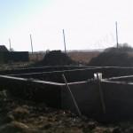 Монолитный ленточный фундамент п. Сокольники