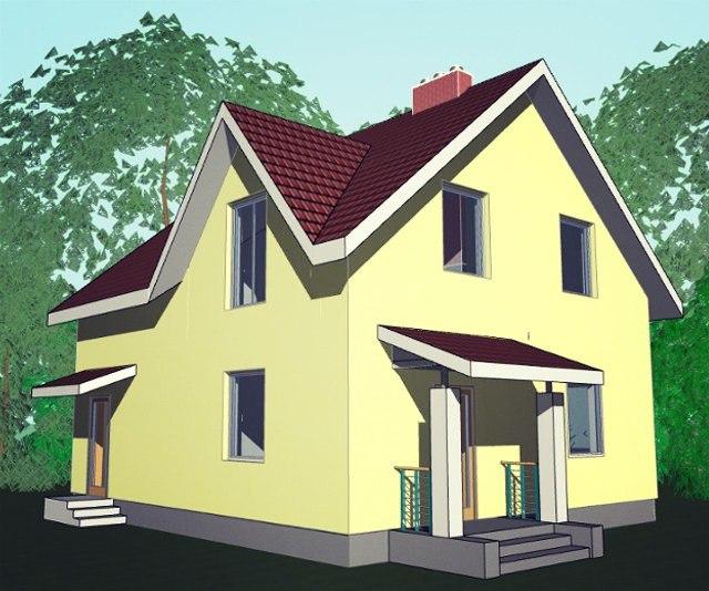 """Проект дома """"Толедо"""""""