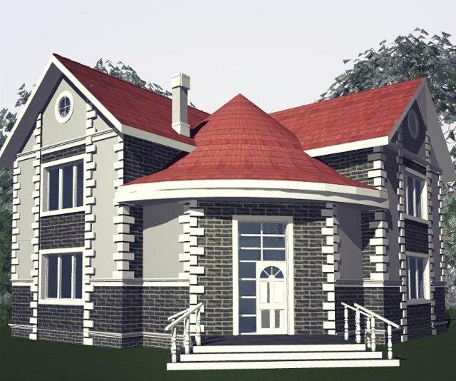 """Проект дома """"Византия"""""""