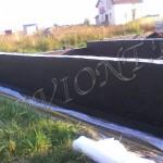 Обмазочная гидроизоляция и дренаж