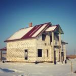 Строительство дома п. Заозерье