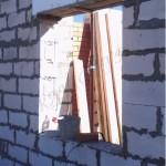 Кладка несущих стен из газосиликата