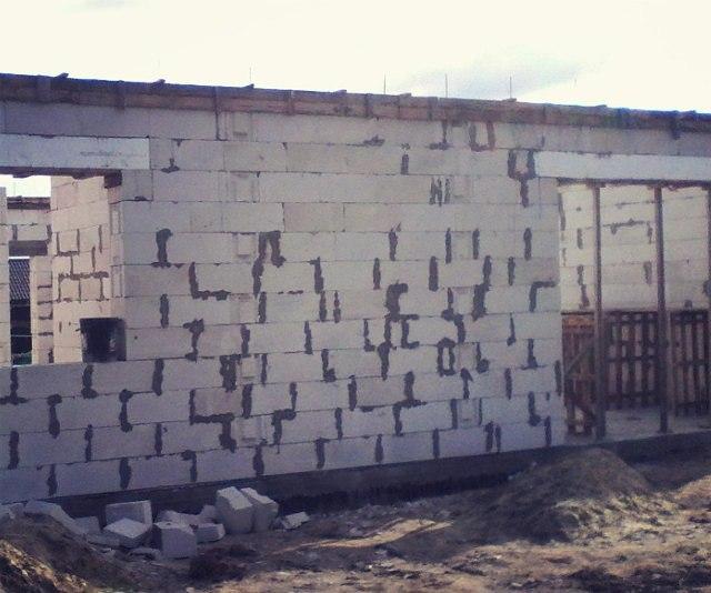 Строительство дома п. Рассвет