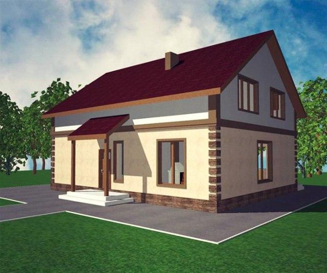 """Проект дома """"Вермонт"""""""