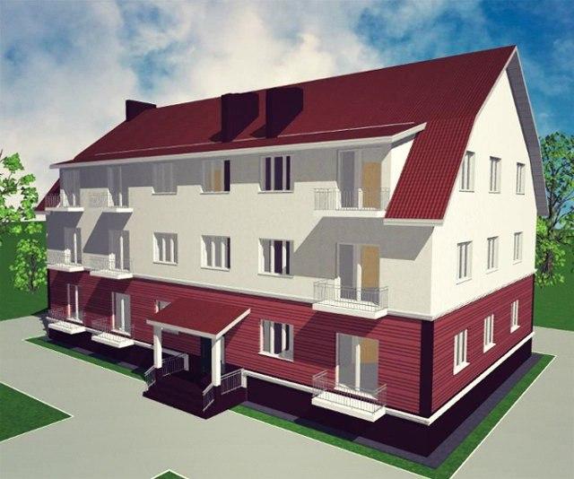 Проекты многоквартирных домов