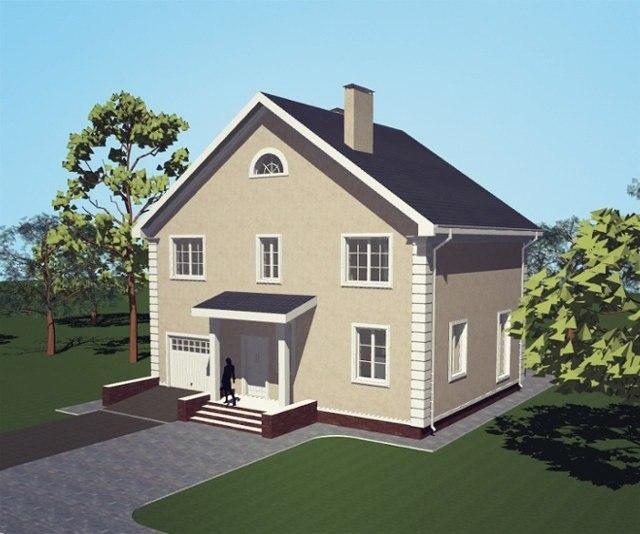 Проект дома Кингстон-2