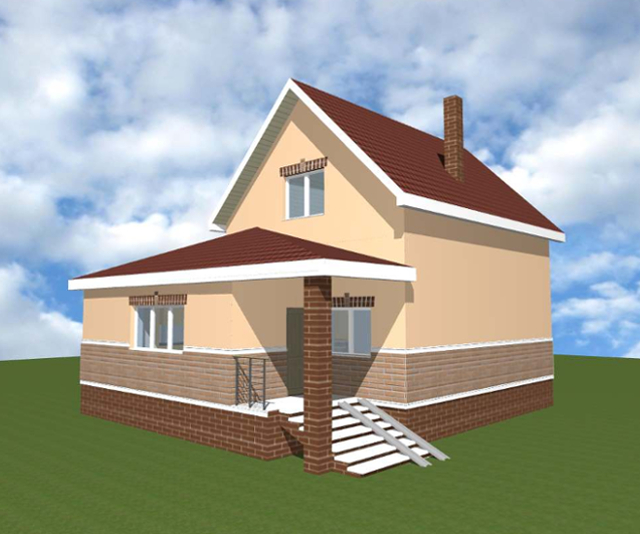 """Проект дома """"Вальдивия"""""""