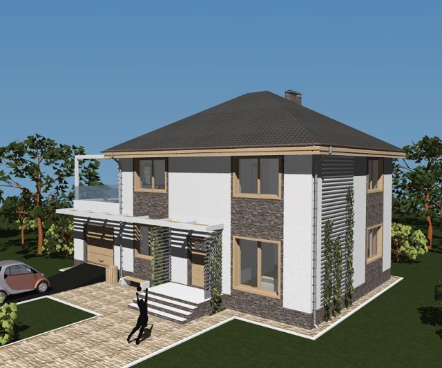 "Проект дома ""Олимпия"""