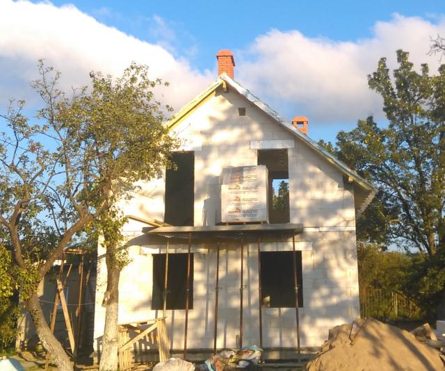 Реконструкция дома по проекту Виннипег